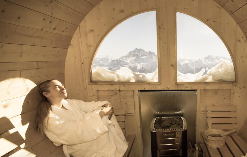 Fass-Sauna  - Intern