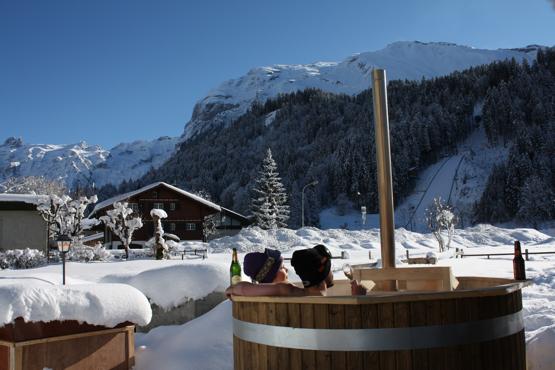 Tinozza da bagno con stufa a legna t 190 id sauna - Tinozza da bagno ...