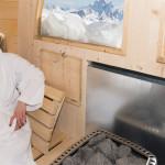 Sauna 330 - interno