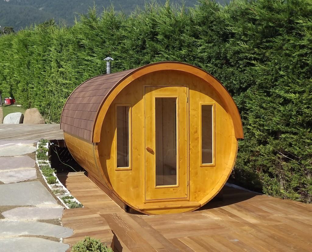 sauna f r aussenbereich s 330 id sauna. Black Bedroom Furniture Sets. Home Design Ideas