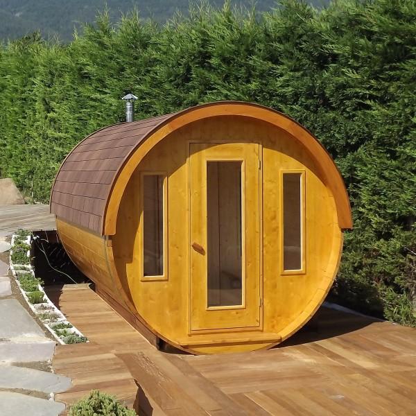 Sauna da esterno s 330 id sauna - Sauna da esterno ...