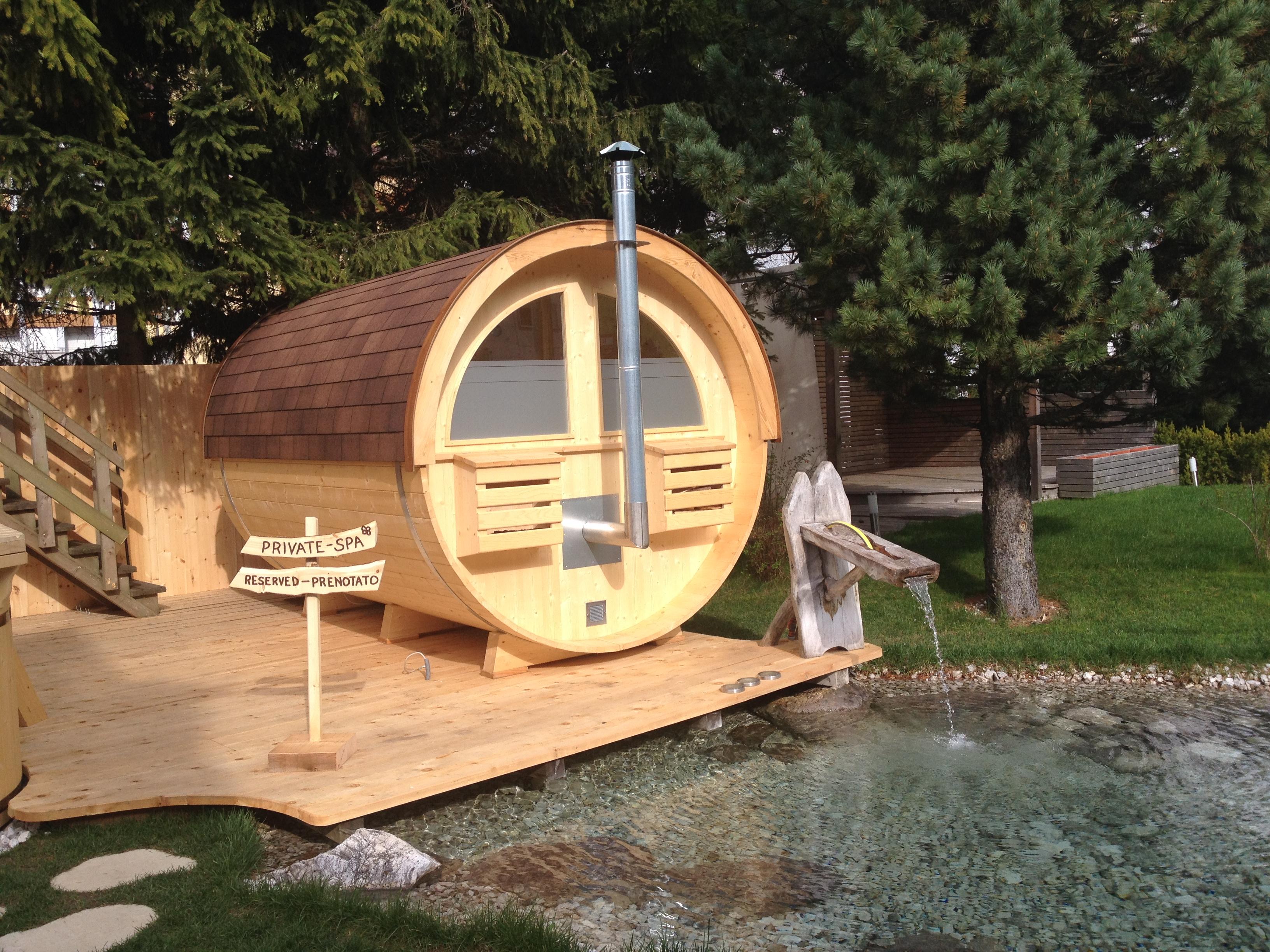 Hervorragend Sauna für Aussenbereich S-390 - ID Sauna UY14