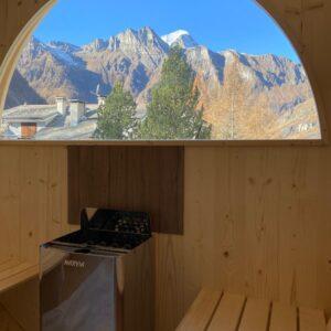 Saune da esterno